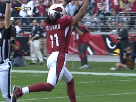 Watch: Kurt Warner hits Larry Fitzgerald for 64-yard TD on trick play