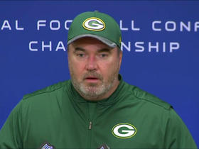 Watch: McCarthy: 'Aaron's competitiveness never turns off'