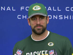Watch: Rodgers: 'Size matters'