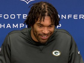 Watch: Peppers, Packers focused on Falcons