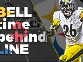 Watch: Le'Veon Bell Time Behind Line