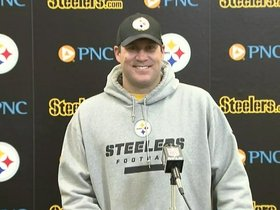 Watch: Roethlisberger: 'They're a very good defense'