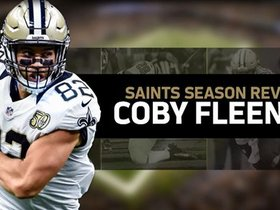 Watch: Saints Season Review: Coby Fleener Highlights