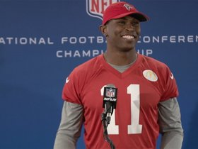 Watch: Julio: I'll Be Ready to Go on Sunday