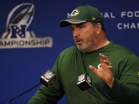 Watch: McCarthy isn't stressing over WR injuries