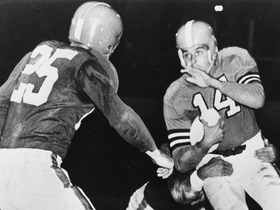 Watch: Otto Graham 'Top 10' Clutch Quarterbacks of All Time