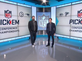 Watch: NFL Pick 'Em: Conference Championships (Full Show)