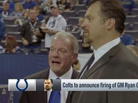 Watch: Colts expeted to fire GM Ryan Grigson