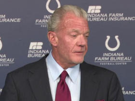 Watch: Jim Irsay: Peyton Manning isn't interested in Colts' front office job