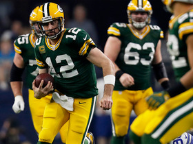Breaking down Aaron Rodgers' scrambles