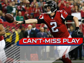 Watch: Can't-Miss Play: Ryan throws flip-pass TD to Sanu