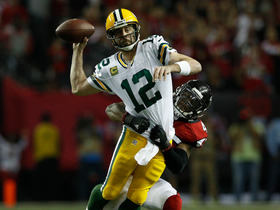 Watch: Aaron Rodgers fires pass to Jordy Nelson for back to back completions