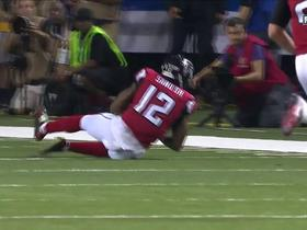 Watch: Mohamed Sanu makes diving catch for 15-yard gain