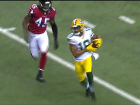 Watch: Randall Cobb slices through middle of Falcons defense