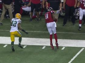 Watch: Julio Jones uses toe-drag swag on 20-yard reception