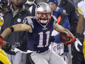 Watch: Julian Edelman weaves through defenders for 41-yard gain