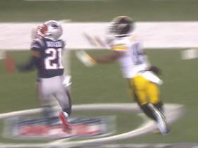 Watch: Malcolm Butler knocks pass away from Antonio Brown