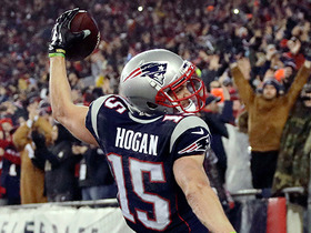Watch: Tom Brady finds Chris Hogan in the end zone for 16-yard TD