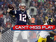 Watch: Can't-Miss Play: Flea flicker alert! Brady to Hogan