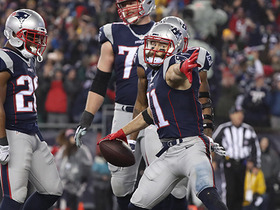 Watch: Tom Brady finds Julian Edelman in the end zone for 10-yard TD