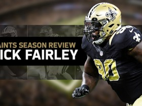 Watch: Saints Season Review: Nick Fairley Highlights