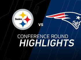Watch: AFC Championship: Steelers vs. Patriots highlights