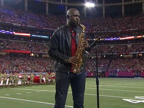 Watch: Mike Phillips performs national anthem in divisional round