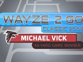 Watch: Wayze2Go Classic 2002 | Michael Vick 46-Yard Game Winner