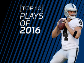 Watch: Derek Carr: Top 10 Plays of 2016