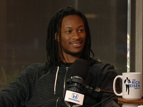 Watch: Todd Gurley says Eric Dickerson's presence didn't affect players 'at all'