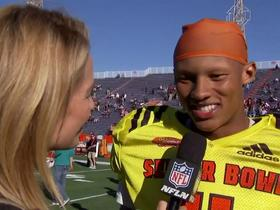 Watch: Dobbs on Hue Jackson: I'm just trying to draw knowledge from him