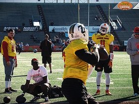 Watch: Reese's Senior Bowl: Day 1 highlights