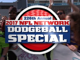 Watch: Dodgeball Showdown at NFL Network