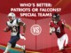 Watch: Who has the better Special Teams: Patriots or Falcons?