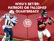 Watch: Who has the better QB: Patriots or Falcons?