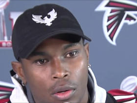 Julio Jones unsure if Patriots will try to cover him 1-on-1