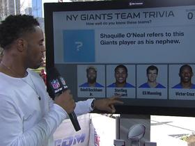 How well does Rashad Jennings know his teammates?
