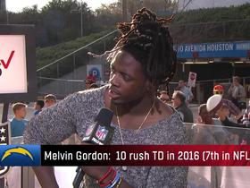 Melvin Gordon credits 2016 success to training with Adrian Peterson