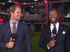 Greg Olsen on Walter Payton MOTY: We're just thankful to be a part of it