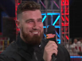 Who would Travis Kelce want as his wingman?