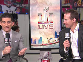 Drew Brees joins 'Super Bowl Live'
