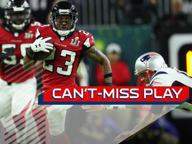 Watch: Can't-Miss Play: Brady's first playoff pick six