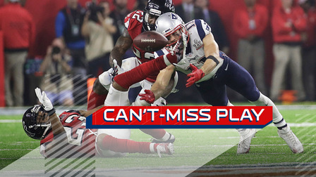 Cant Miss Play Julian Edelman Makes Miracle Shoe Catch In Super Bowl LI