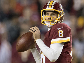 Watch: Kirk Cousins will not sign new deal until Redskins use franchise tag