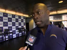 Watch: Lynn on being named Chargers' coach: 'It's been a fast six weeks'