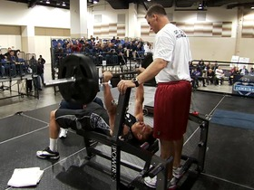 Watch: Gronk's 2010 combine bench press