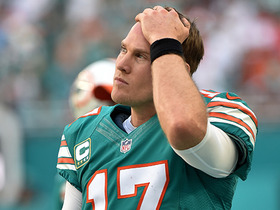 Watch: Garafolo: Dolphins don't want to give Tannehill too much to handle too quickly