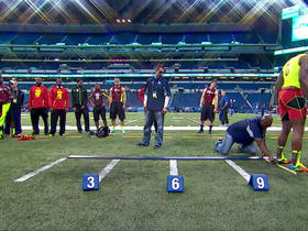 Watch: GMFB Combine Game- broad jump
