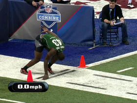 Watch: GMFB Combine Game- 40 yard dash
