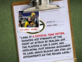 Watch: MTS Scouting Competition: T.J. Lang report from Ethan Young